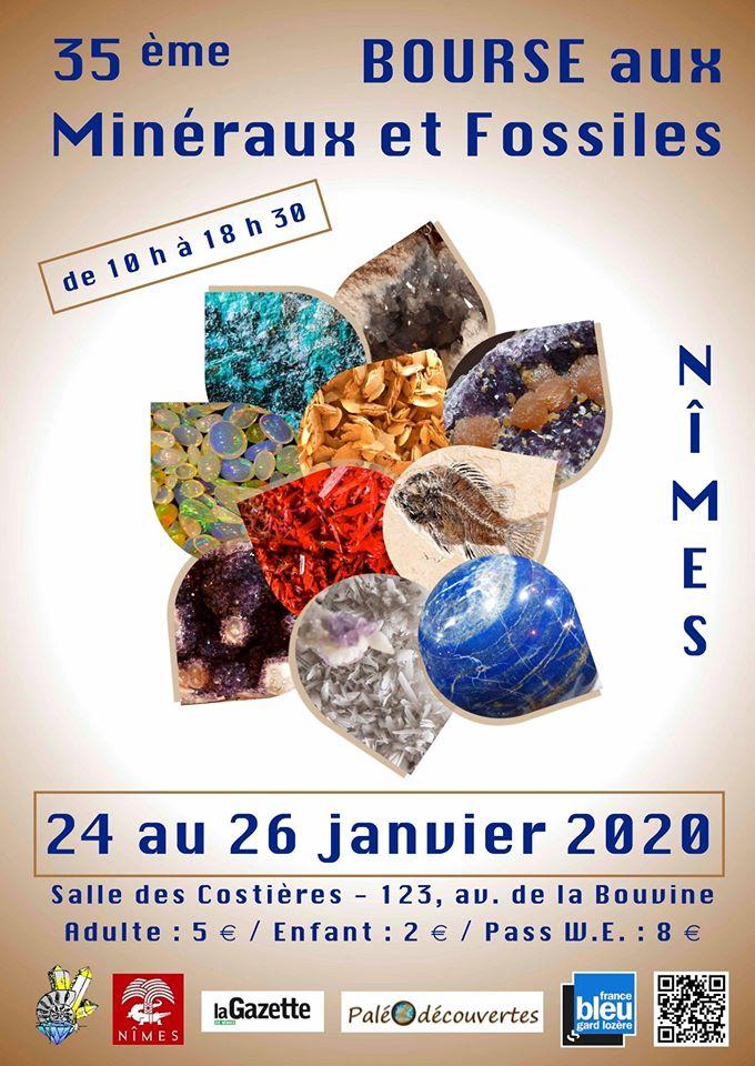 35ème Bourse aux Minéraux et Fossiles