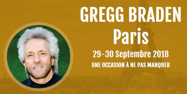Gregg Braden à Paris. Conférence Conçu pour être humain!