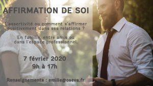 Affirmation de soi à 69380 Chasselay Rhone-Alpes @ Doréssens