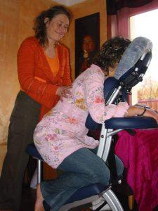 Apprendre le Amma assis habillé (shiatsu sur chaise)