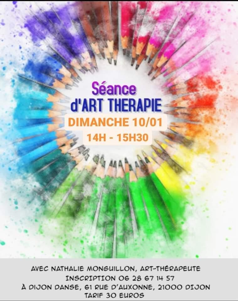 Atelier d'Art-thérapie à Dijon Danse