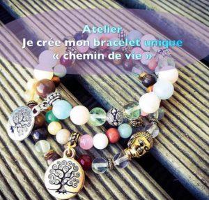 Atelier litho-créatif Bracelet chemin de vie @ L'Atelier du Corps et de l'Esprit