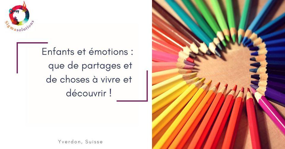 Atelier pour enfants sur les émotions
