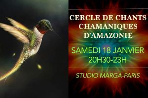 Chants chamaniques d'Amazonie @ Studio Marga Paris
