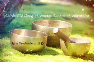 Chi Gong et Voyage Sonore et Vibratoire dans la Nature @ Diebling | Grand Est | France
