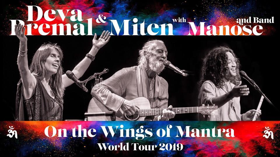 Concert Deva Premal & Miten with Manose à Colmar