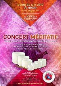 Concert méditatif Voyage sonore thérapeutique au son du bol @ Centre Alliance -Énergie