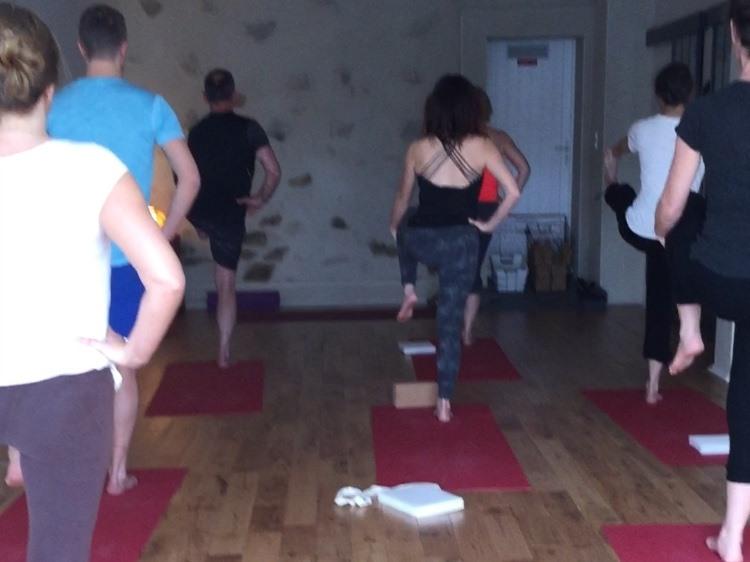 Cours sur ZOOM : vinyasa krama yoga les lundis