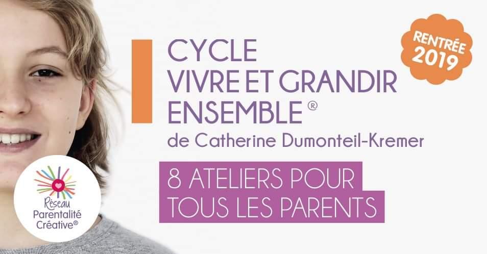 Cycle d'ateliers pour tous les parents à Angers (49)