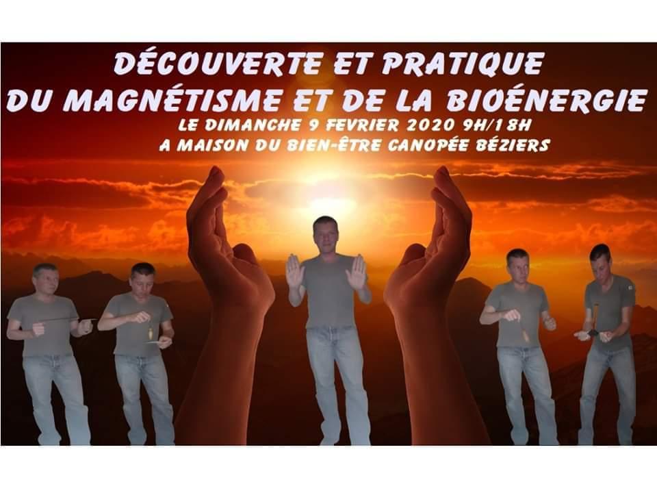 Découverte et pratique du magnétisme et de la bioénergie