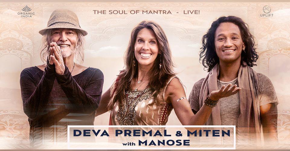 Concert Deva Premal & Miten with Manose