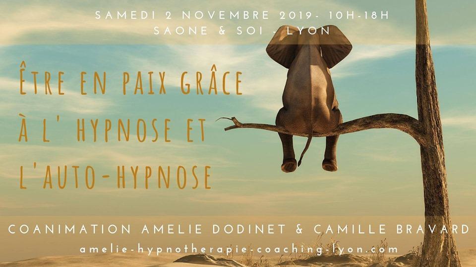 Stage être en paix grâce à l'hypnose et l'autohypnose