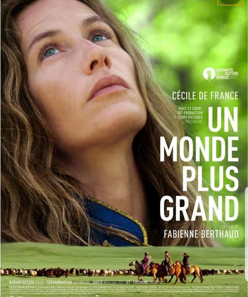 Film «Un monde plus grand» et conférence avec Corine Sombrun