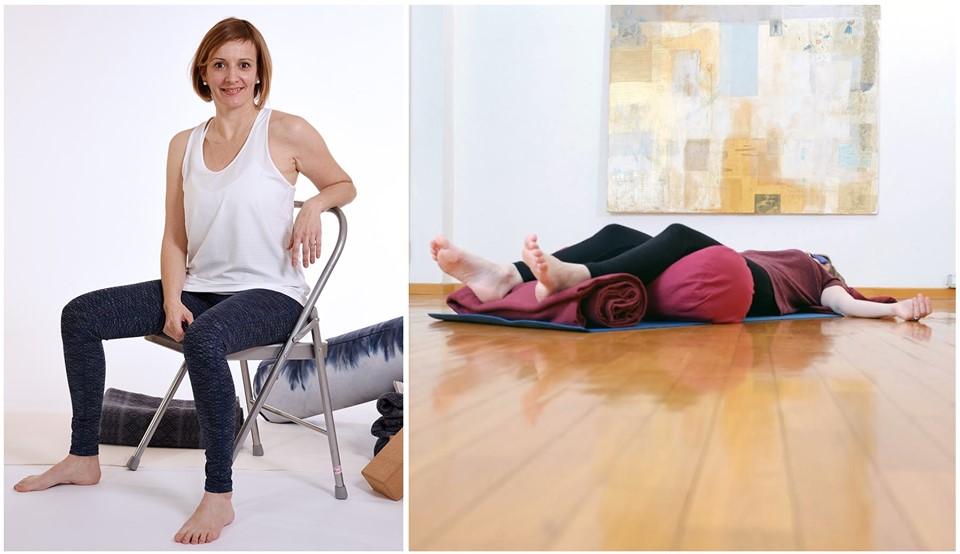 Formation au Restauratif yoga avec Audrey Favreau en Août 2020