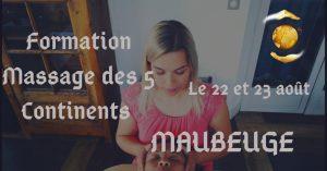 Formation certifiante au Massage des 5 Continents à Maubeuge @ Corpâme : Centre de bien-être spécialisé en thérapie alternative