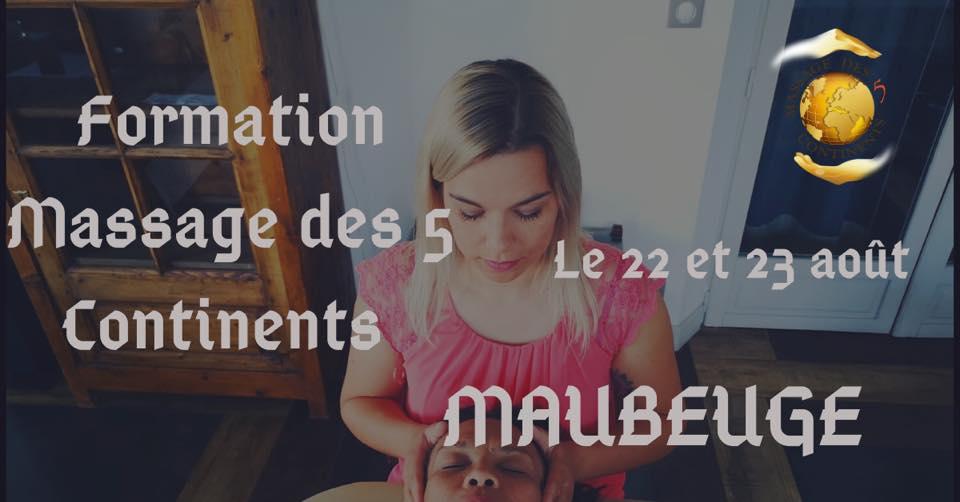 Formation certifiante au Massage des 5 Continents à Maubeuge