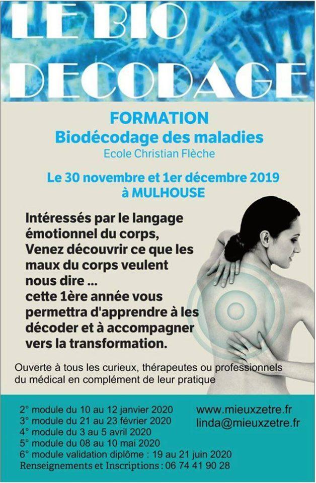 "Formation ""conseiller en biodécodage"""