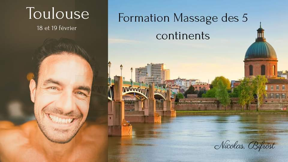 Formation Massage des 5 continents hypnotique Toulouse