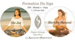 Formation Yin Yoga - Paris - Module I