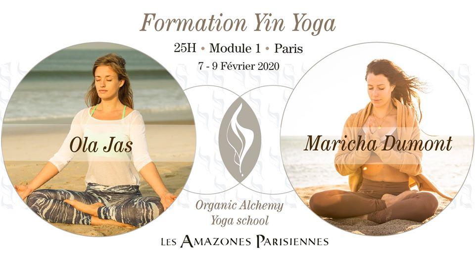 Formation Yin Yoga – Paris – Module I
