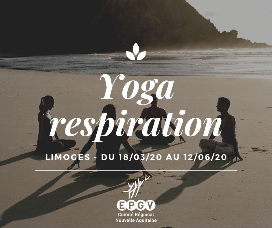 Formation Yoga – Respiration