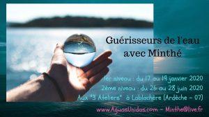 Guérisseurs de l'eau - niveau 1 @ pin Les 3 Ateliers - Art et Culture Sud Ardèche