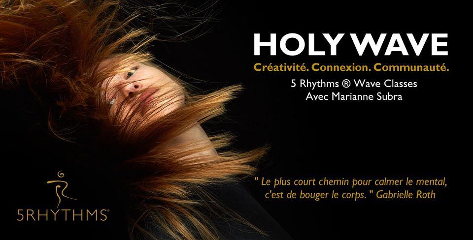 Holy Wave Albi – Danse des 5 Rythmes® avec Marianne Subra