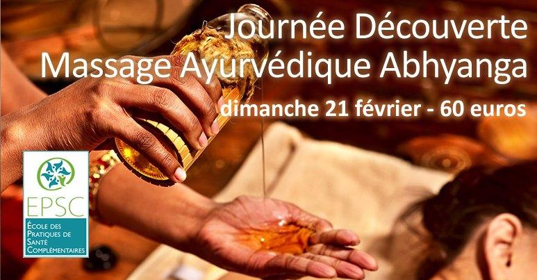 Journée Découverte Massage Abhyanga à Poitiers (86)