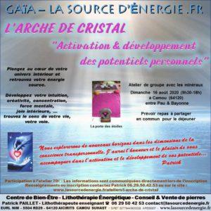 L'arche de cristal développement des potentiels à Camou (64120) @ GAÏA - La source d'énergie .fr