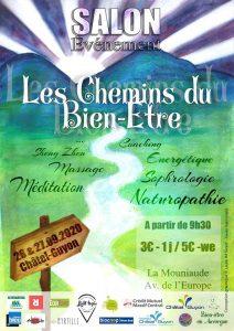 Les Chemins du Bien-être (Salon et Marché événement) @ La Mouniaude (l'ancienne gare)