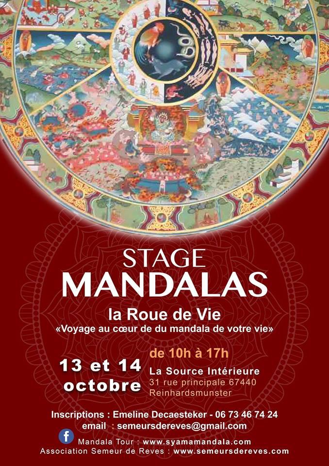 Mandala Tour : STAGE Roue de la Vie