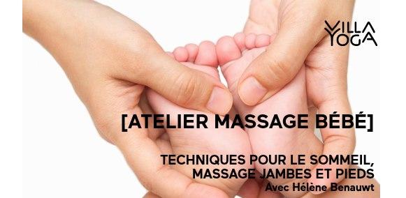 Massage bébé #1 – Sommeil et Massage jambes et pieds