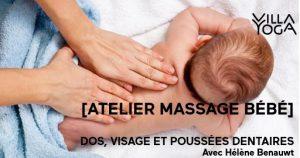 Massage bébé #3 - Dos, visage et poussées dentaires à Bondues