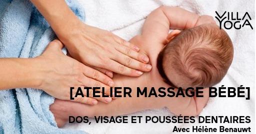 Massage bébé #3 – Dos, visage et poussées dentaires à Bondues