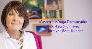 Masterclass Yogatherapie avec Jocelyne Borel du 4 au 6 juin 2019