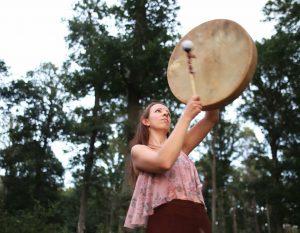 Méditation au tambour - Pleine Lune - (en extérieur) @ Wambrechies Parc Du Château De Robersart