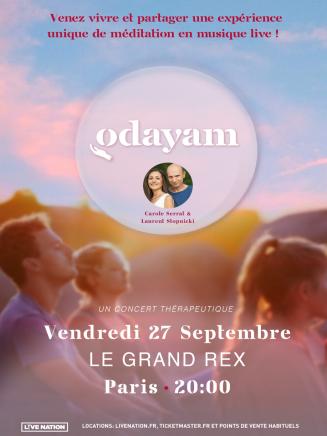 Concert ODAYAM , méditation en musique Live