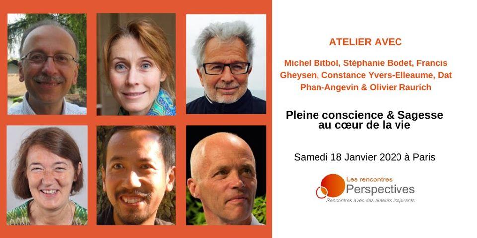 Pleine conscience & Sagesse au cœur de la vie à Paris