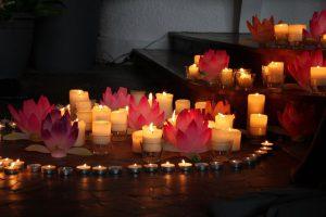 Puja & Méditation pour la paix à Notre-Dame-de-Londres @ LIEU DIT JANUQ