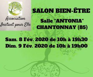 Salon Bie-être 2020 de Chantonnay en Pays De La Loire @ Chantonnay Salle ANTONIA