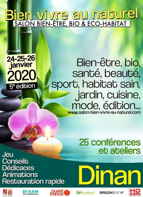 Salon Bien-être, Bio et Eco-habitat Dinan janvier 2020