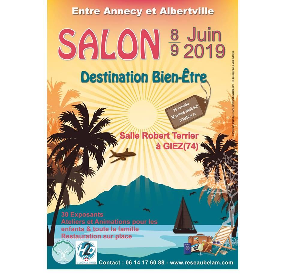 """Salon """"Destination Bien-être"""" – Détente et massages"""