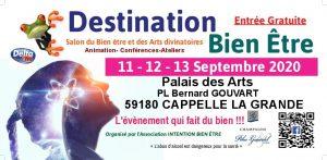 Salon Destination Bien Être et des arts divinatoires (59) @ Palais Des Arts Et Des Loisirs