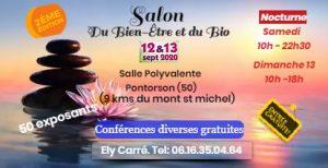 Salon du Bien-Etre & Bio septembre 2020 de Pontorson @ Salle Polyvalente