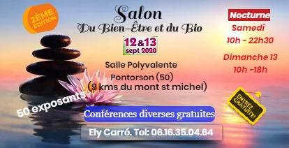 Salon du Bien-Etre & Bio septembre 2020 de Pontorson