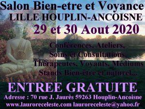 Salon du Bien-être Voyance Lille Houplin Ancoisne 29 et 30/08/20 @ Salon du bien-être et de la voyance Lille Houplin Ancoisne
