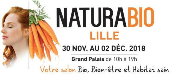 Salon NaturaBio de Lille 2018
