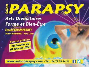 Salon Parapsy 2021 Paris 17 Salon arts divinatoires et bien-être @ Espace Champerret Paris
