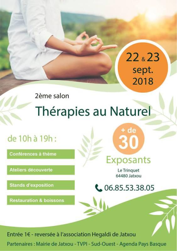 Salon Thérapies au Naturel à Jatxou 64480