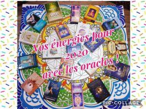 Soirée Vos énergies pour 2020 avec les oracles @ Univers'elles